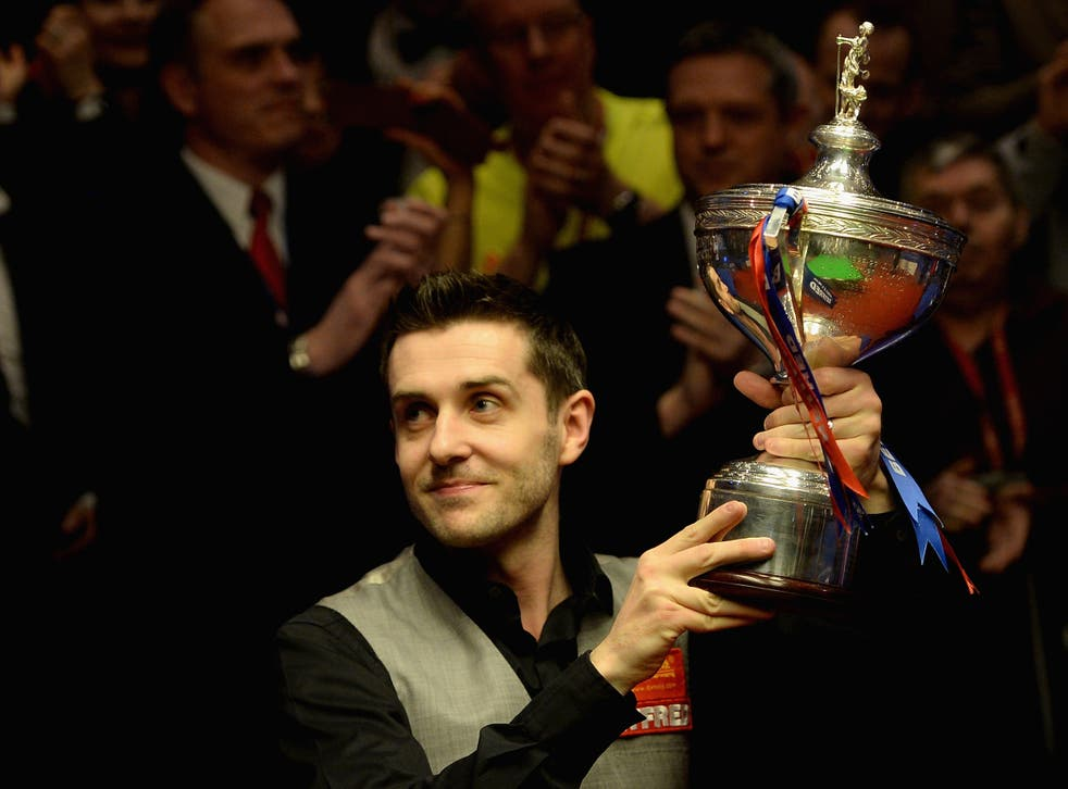 Selby won the tournament at the Crucible 12 months ago