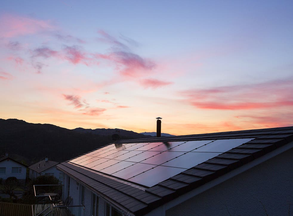 The number of people putting solar panels on their homes is now at a six-year low