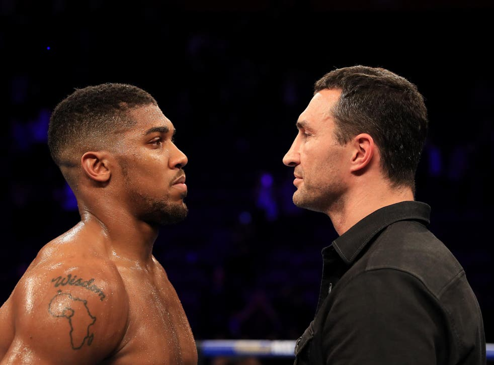 Joshua is hoping to extend his perfect record