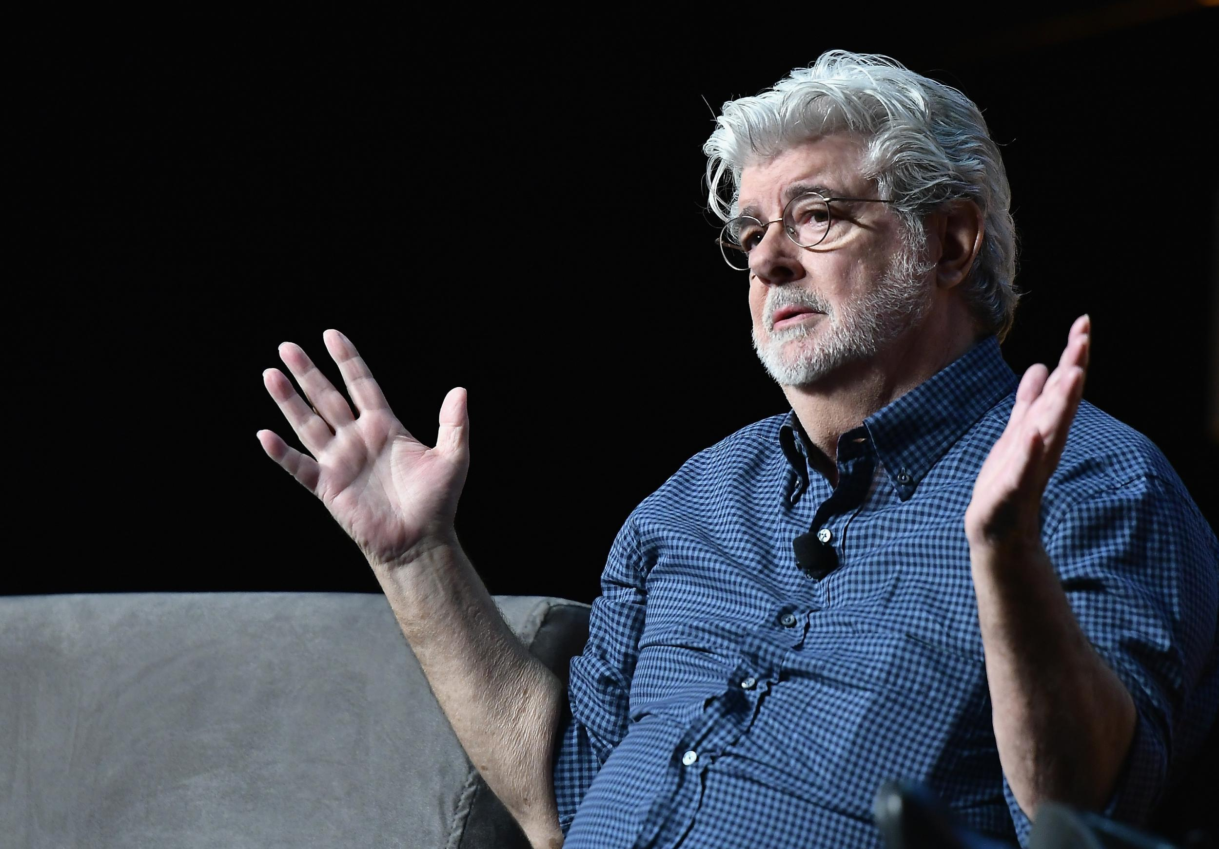 Star Wars Celebration 2017 George Lucas Insists Star Wars Is A Film For 12 Year Olds The