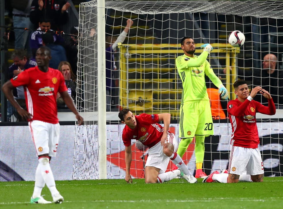 It was another frustrating night for the Red Devils