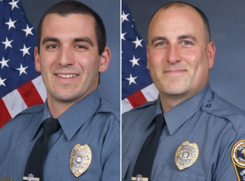 Officer Robert McDonald (left) and Sgt Michael Bongiovanni (right) were fired from the Gwinnett County Police department