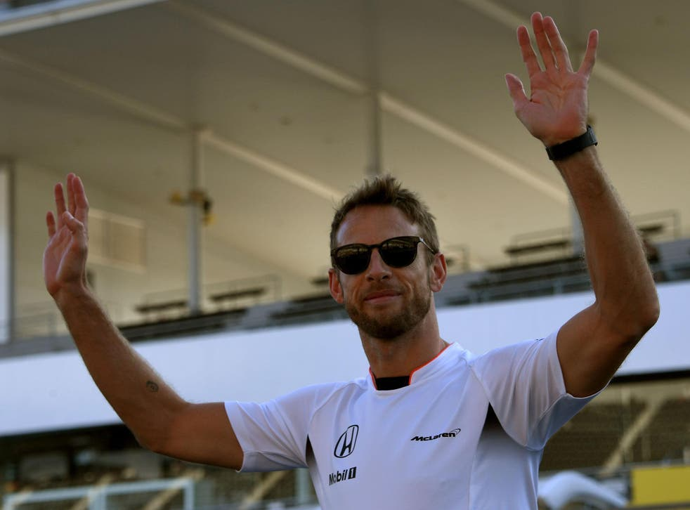 Jenson Button only retired at the end of last season