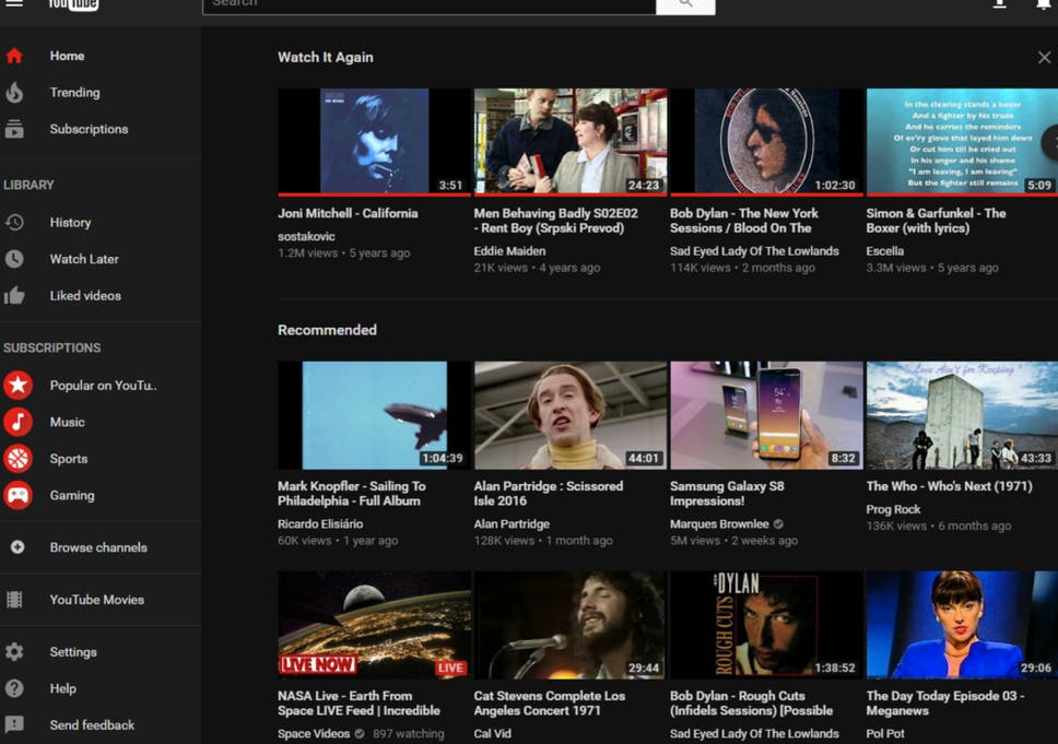 How to activate YouTube\'s hidden \'Dark Mode\' | The Independent