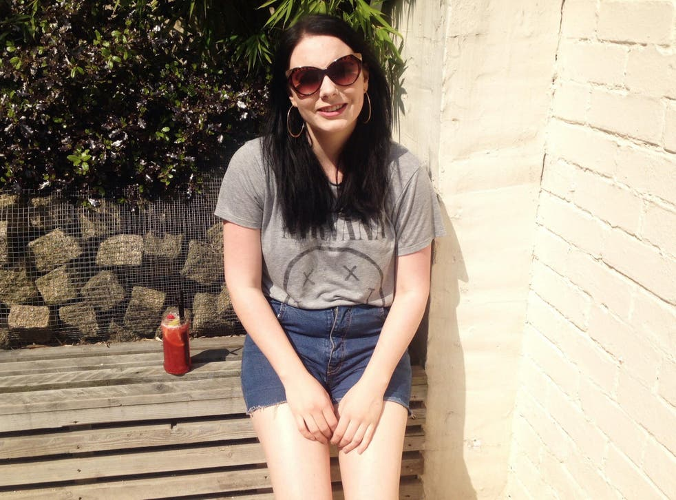 """Alice Kirby, 25, accused the Department for Work and Pensions of """"institutional abuse"""" after she was asked by disability benefit assessors why she had not killed herself"""
