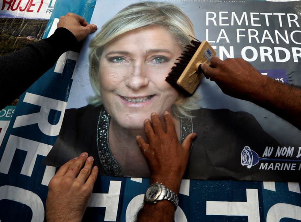 Ms Le Pen has taken something of a political pasting over the past week