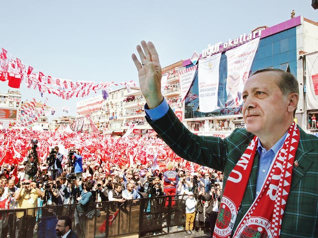 President Erdogan secured a marginal victory in a referendum called over whether to grant the presidency additional powers