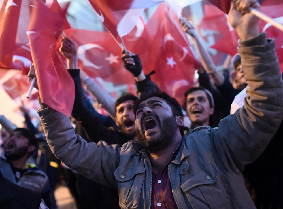 Turkey voted to give the president sweeping new powers in a national referendum