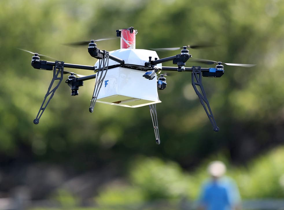 The Civil Aviation Authority said it was the first time an incident involved more than one drone