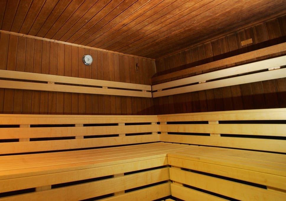Sauna boyz three scene 1