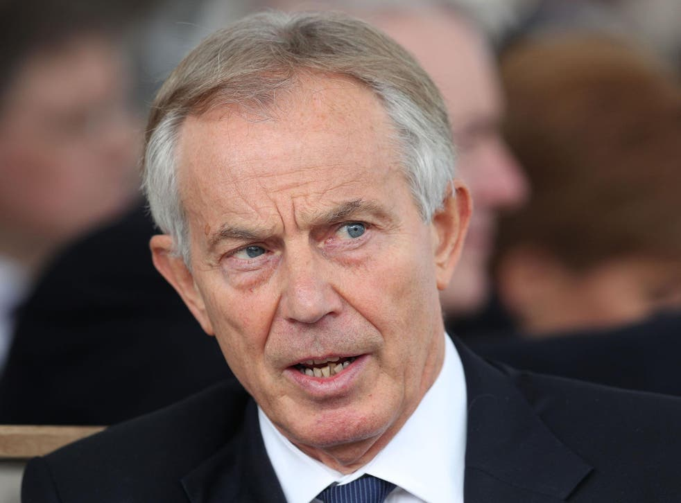 'The political situation is unprecedented and dangerous', Tony Blair said