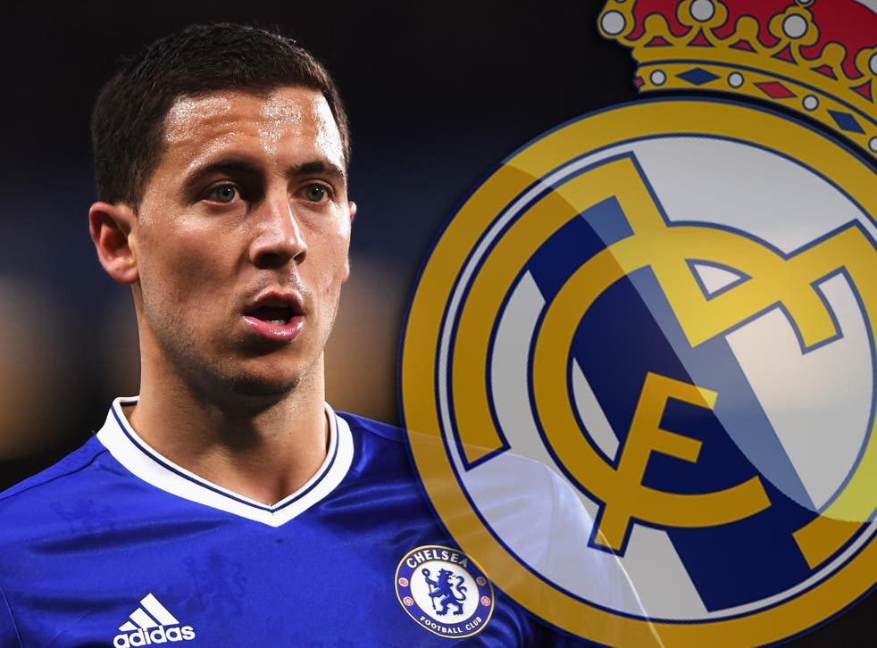 Eden Hazard has been linked with a summer move to Real Madrid