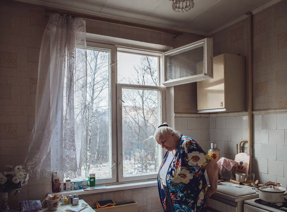 'I put everything I had into this apartment. And now that they're moving me out, what will I have left?' says Tatyana Chaynikova