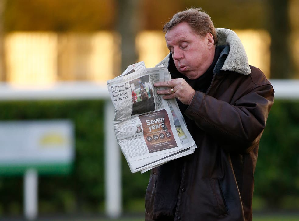Redknapp has not yet had a chance to study his players