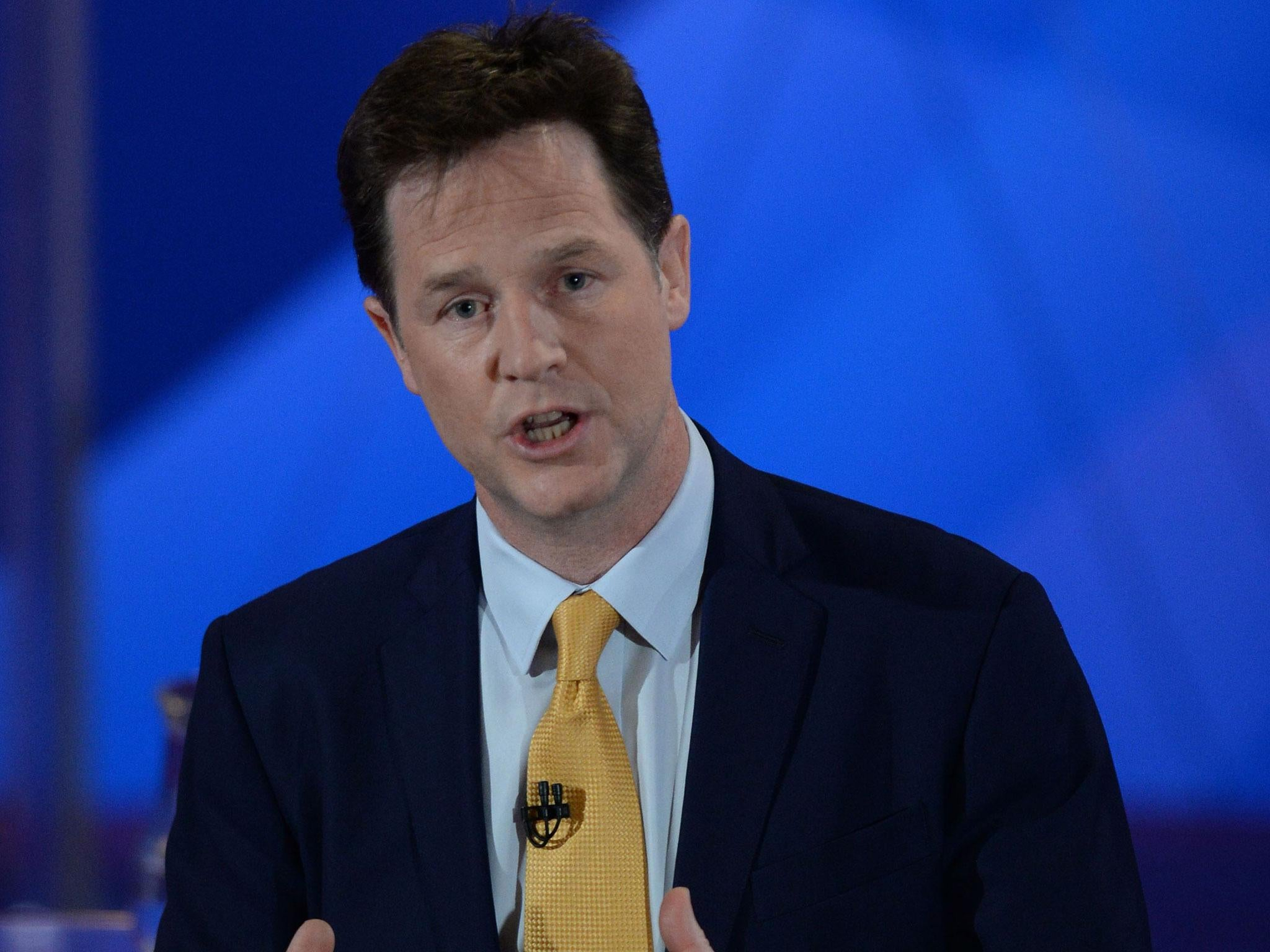 Nick Clegg to accuse Theresa May of putting lives at risk with plans to weaken terror fight after Brexit