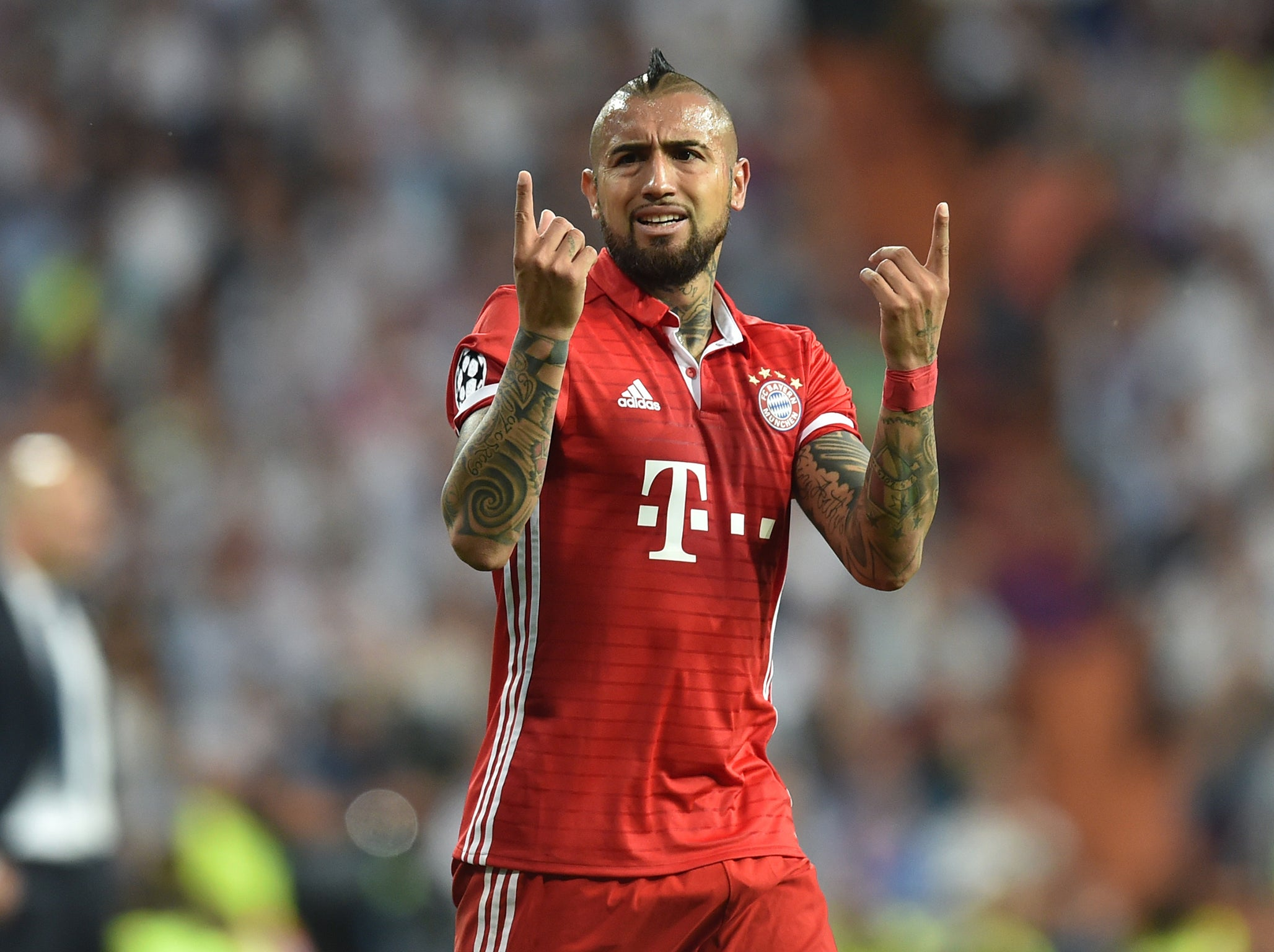 Vidal left fuming over Champions League 'robbery'