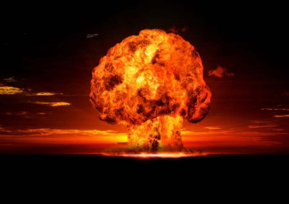Image result for image of nuclear explosion