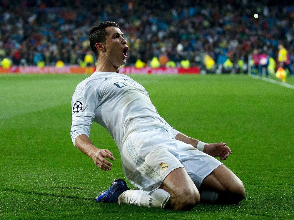 Ronaldo's Champions League century