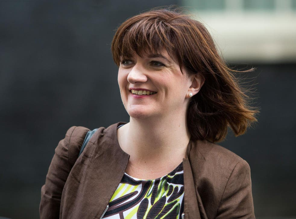 Nicky Morgan chairs the Treasury Committee that has released a report calling for reforms to attract more women to banking