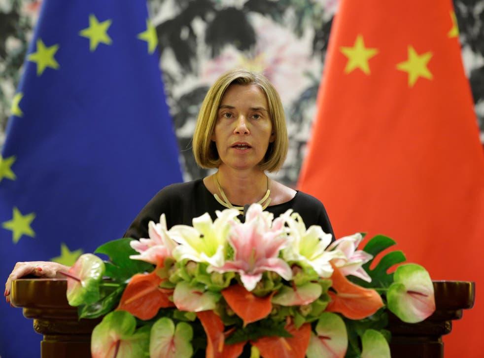 Federica Mogherini, High Representative of the European Union for Foreign Affairs