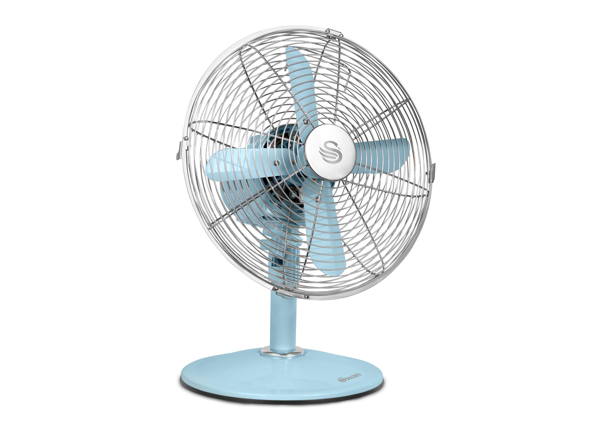10 Best Cooling Fans The Independent How To Control An Electric Fan With A Factory Thermoswitch Apps This Is Part Of Swans Range Stylish Retro Look Home Accessories Which Come In Funky Colours There Are Two Available Pedestal One