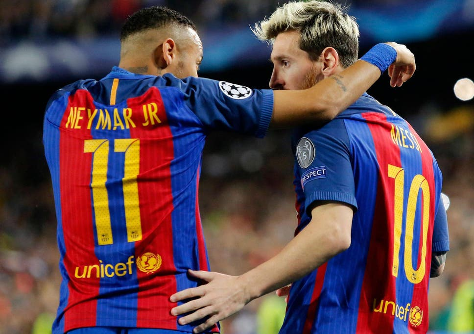 44cbc1052 Lionel Messi and Neymar feature in the La Liga XI - but would they beat the