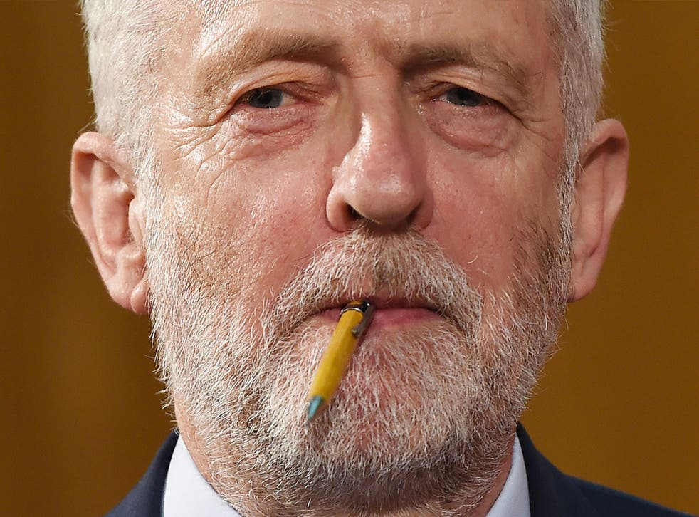 It is the establishment versus the people, the Labour leader said in his first election campaign speech