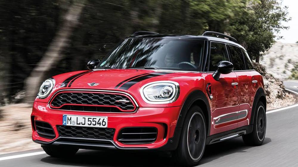 Mini Countryman John Cooper Works First Drive The Independent