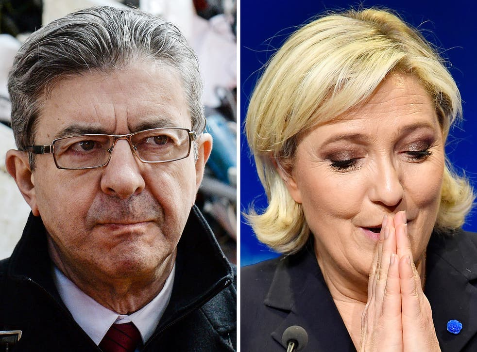 Le Pen has proposed a referendum on Frexit, while Mélenchon declared after Brexit: 'Europe, for the French, it must be changed or left'