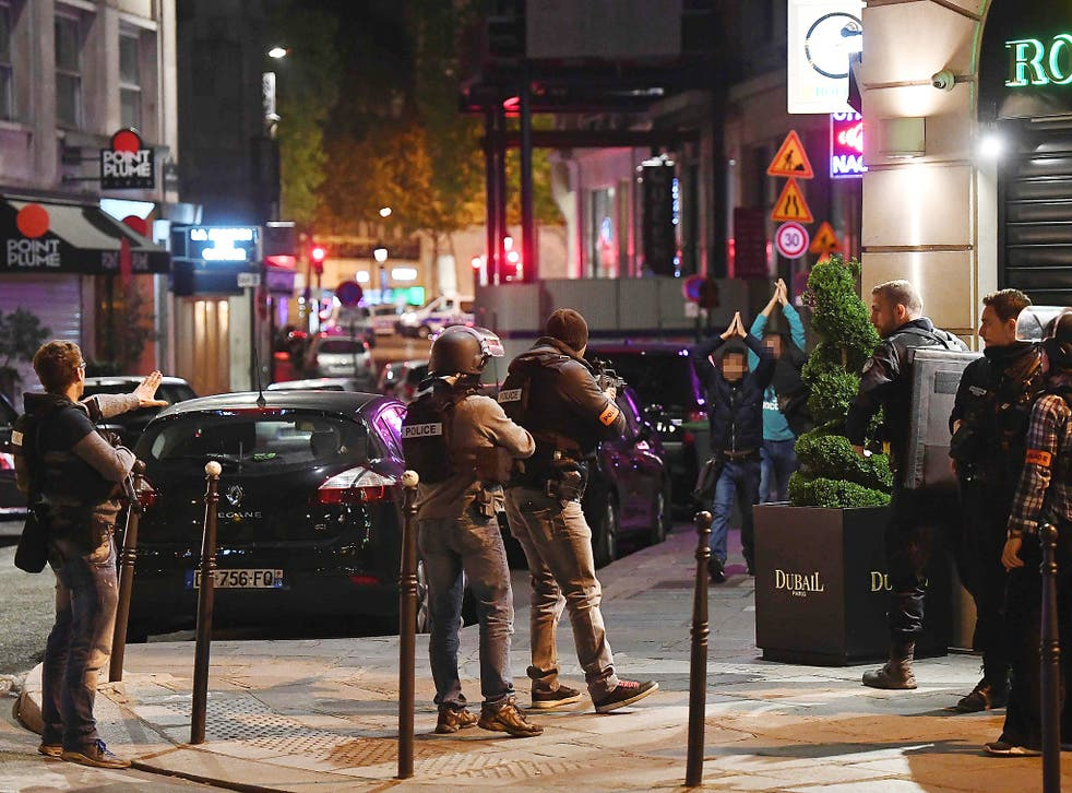 Thursday's terror attack on the Champs Elysees was used by the FN leader to call for widespread deportations and a ban on foreigners entering France