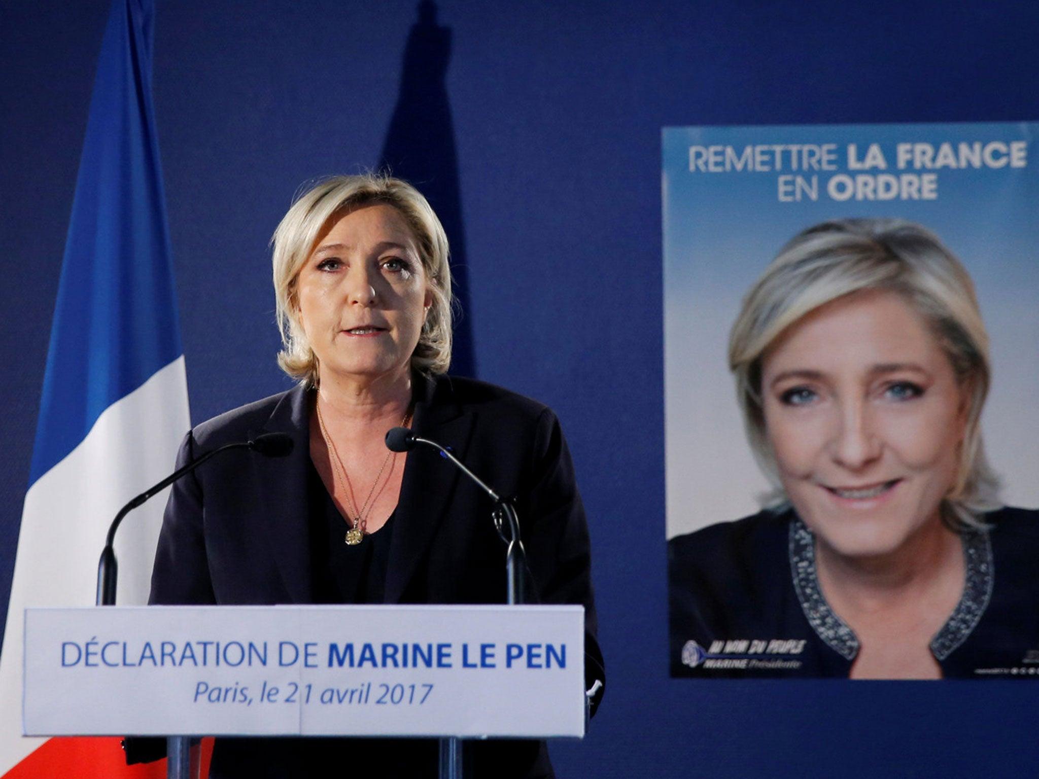 Paris attack: Marine Le Pen seeks to exploit Champs ...