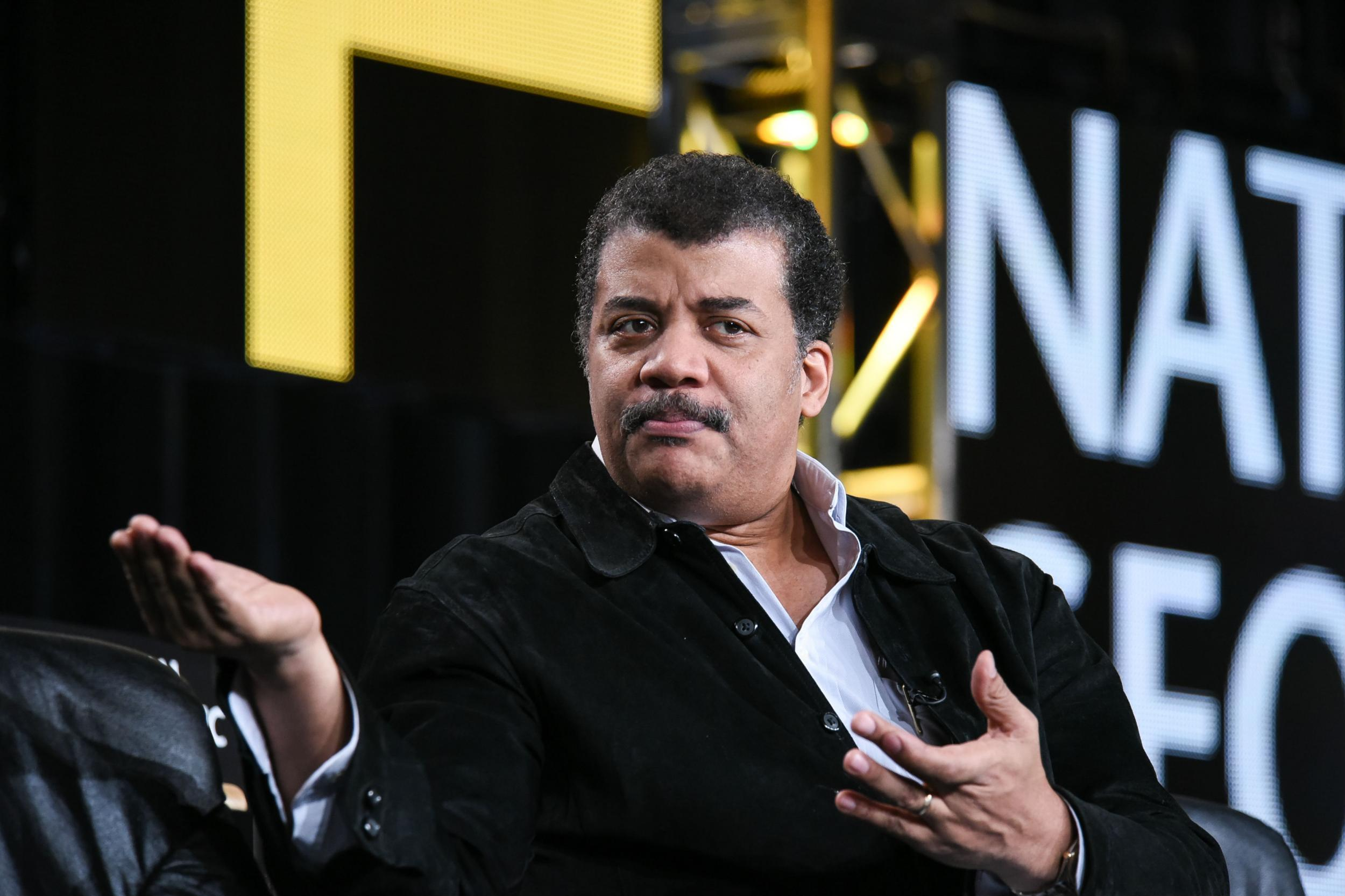 Popular scientist and TV personality Neil DeGrasse Tyson has appeared on Nova and The Daily Show and runs New Yorks Hayden Planetarium