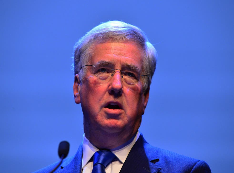 Michael Fallon dismissed concerns about arms sales to dictatorships