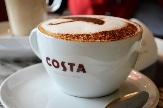 In the three months to February, wages rose at the same rate as inflation – something that might make people less likely to spend on things like coffee
