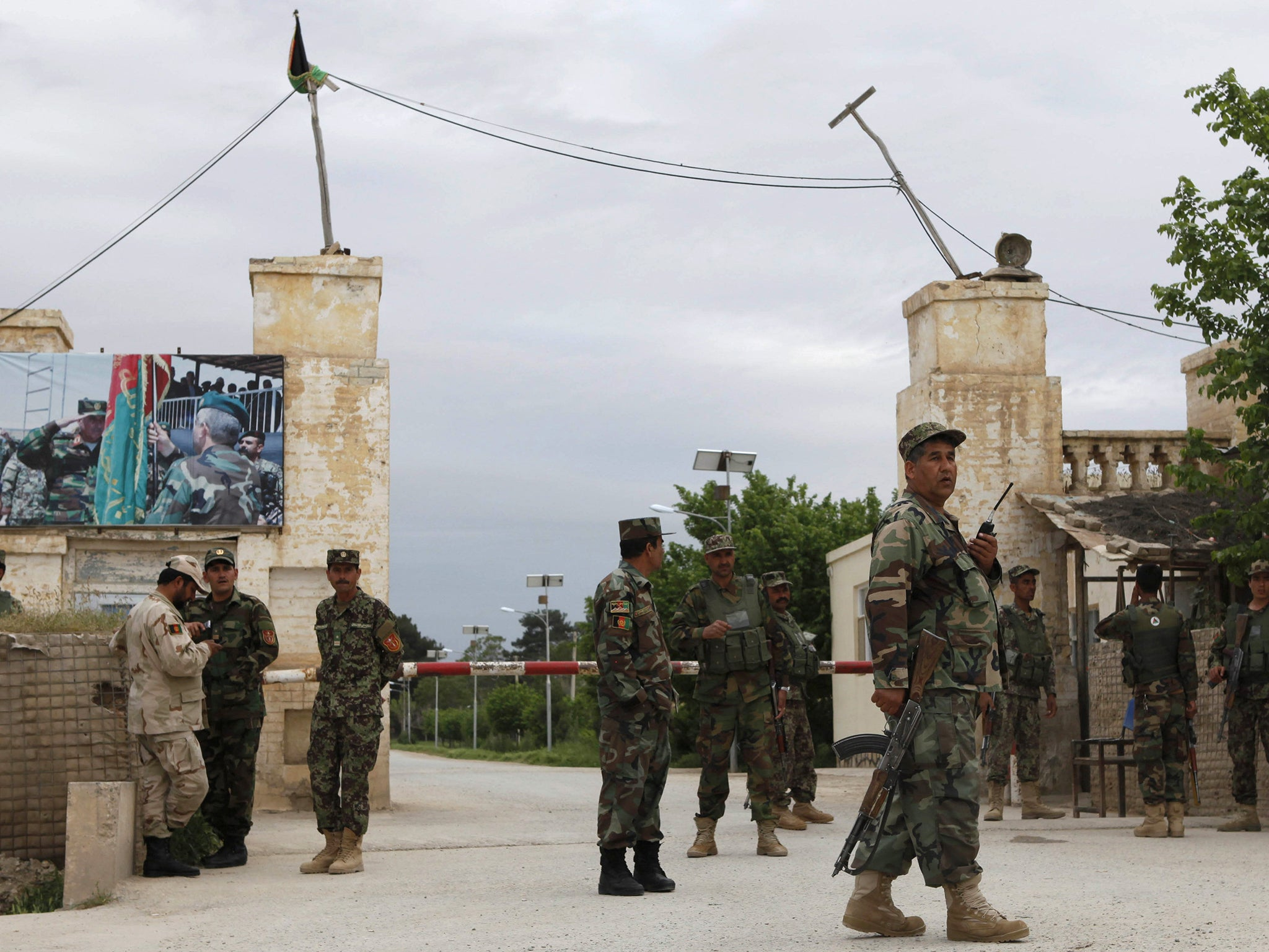 'more Than 50' Feared Dead In Taliban Attack On Afghan Military Base