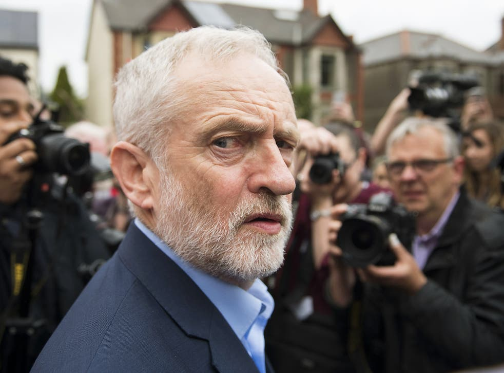 Mr Corbyn has been accused of not proactively fighting the perception of anti-Semitism