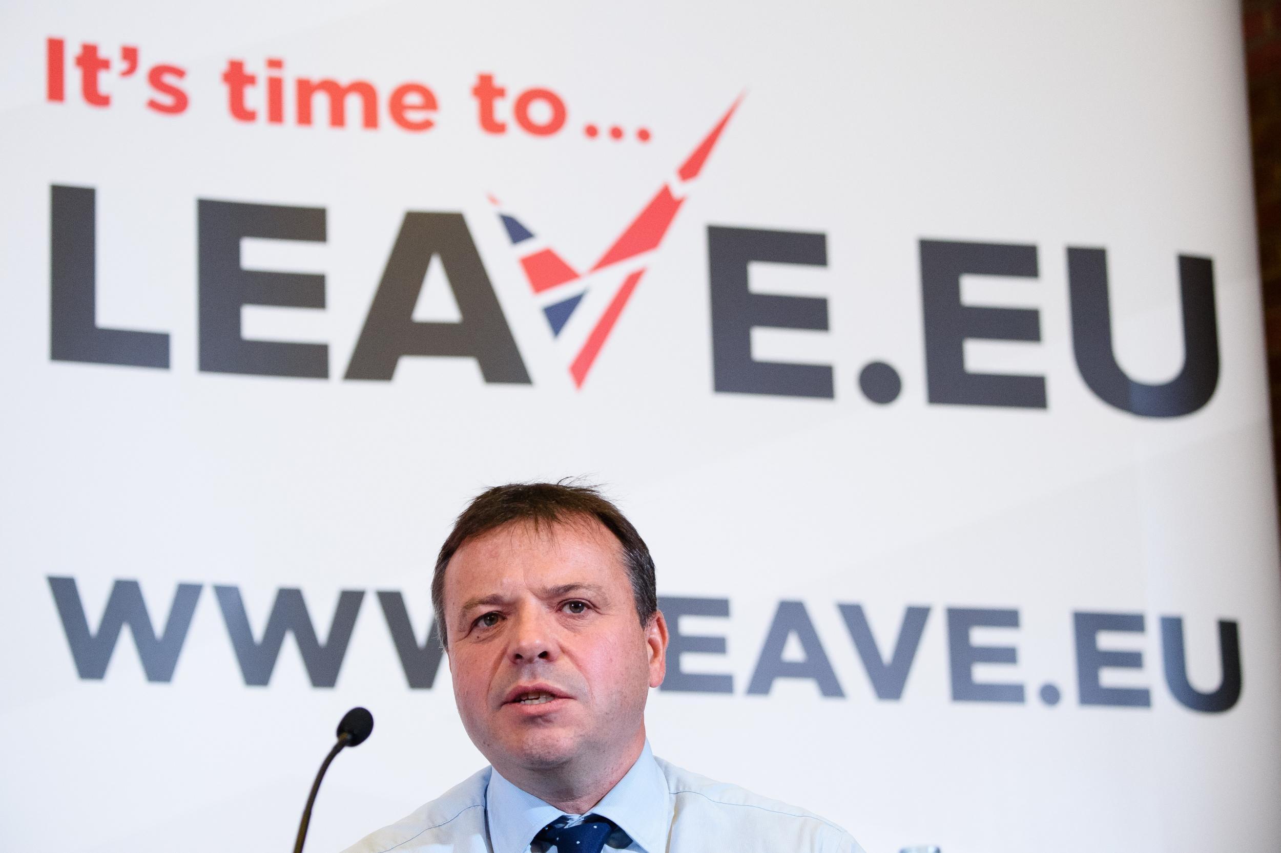 Electoral Commission launches investigation into Leave.EU referendum finances