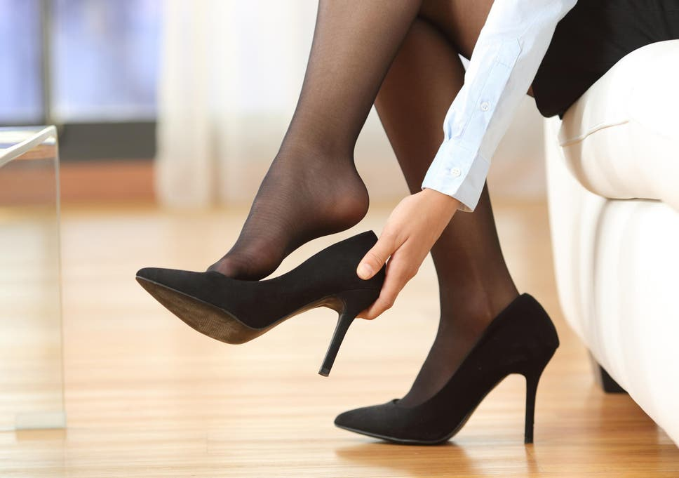 990ba25d21d Government rejects law change on bosses forcing women to wear high heels at  work