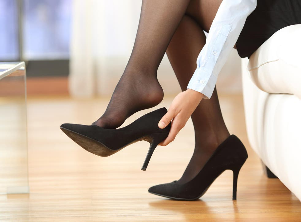 Should bosses be allowed to make female employees wear high heels?