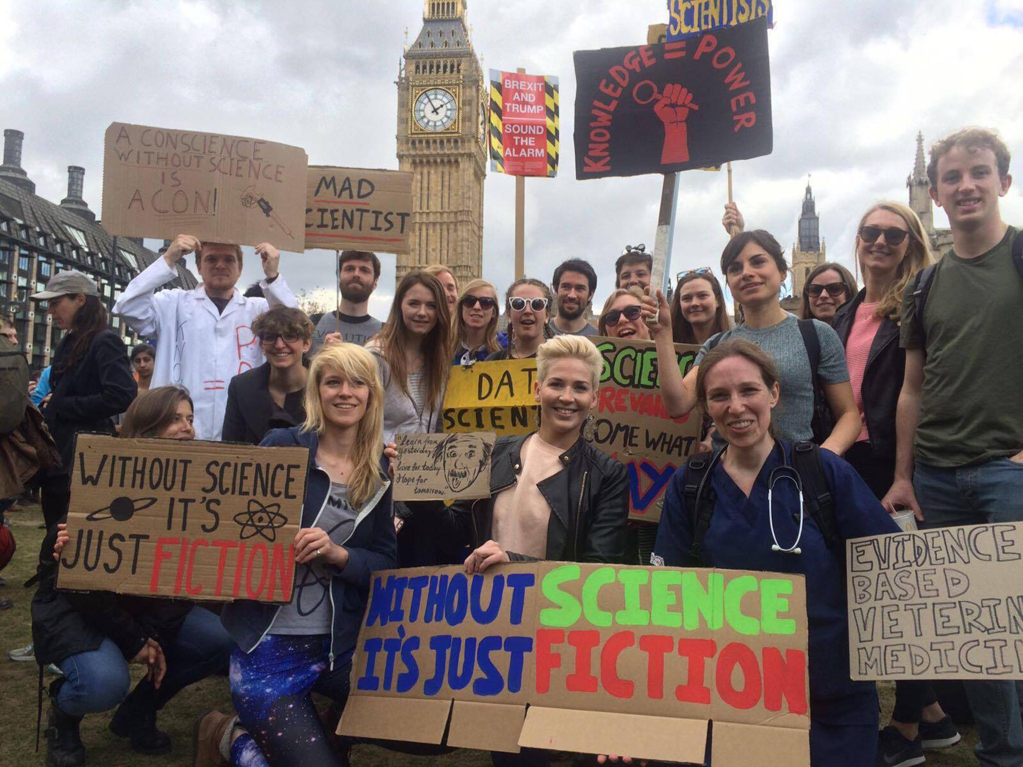March For Science Thousands Turns Out For London Protest As Part - The 20 funniest signs spotted at the march for science