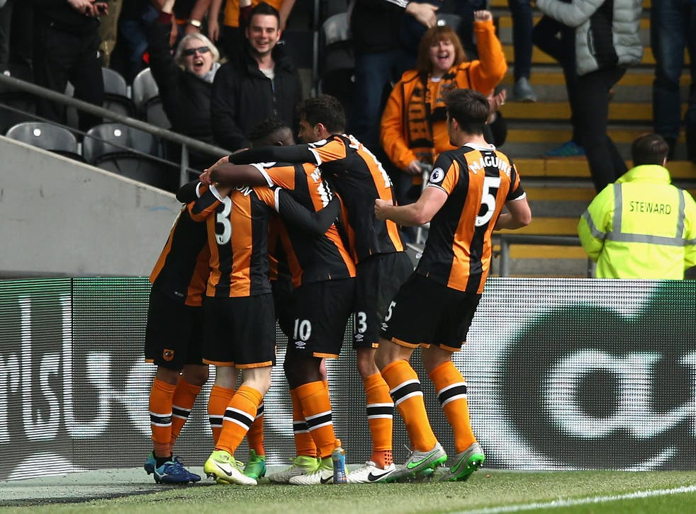 Hull are two points clear of the drop after the win