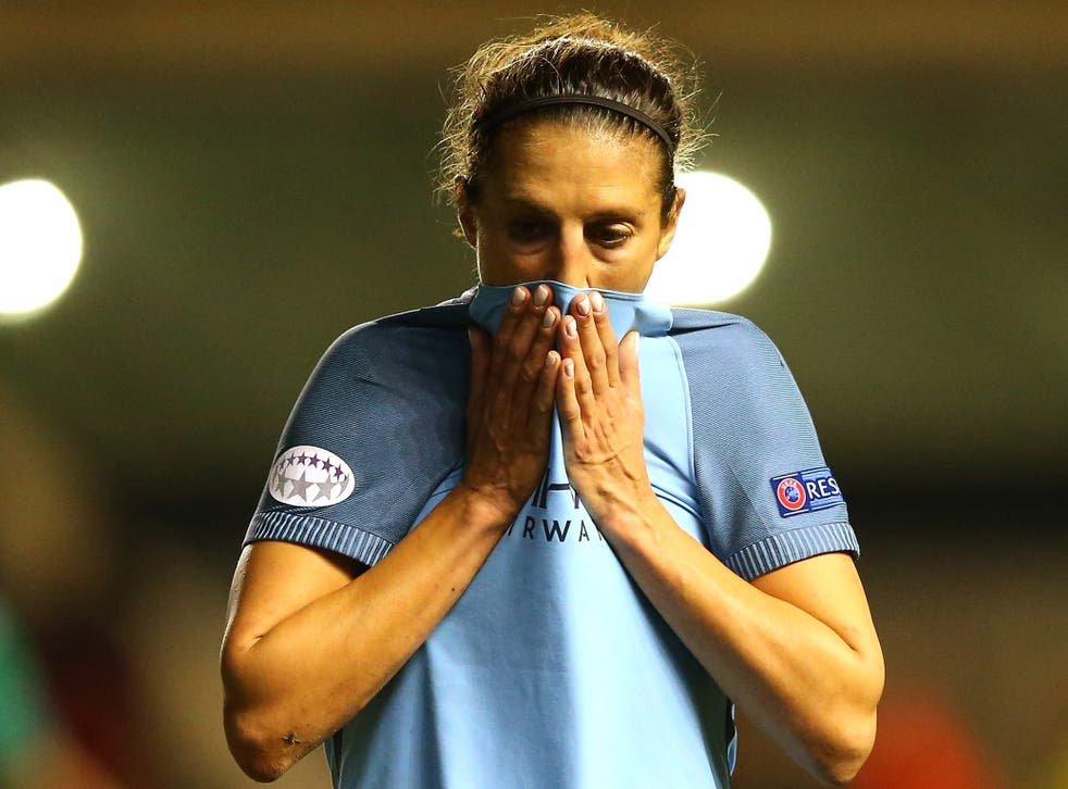 City's Champions League dream was left in tatters