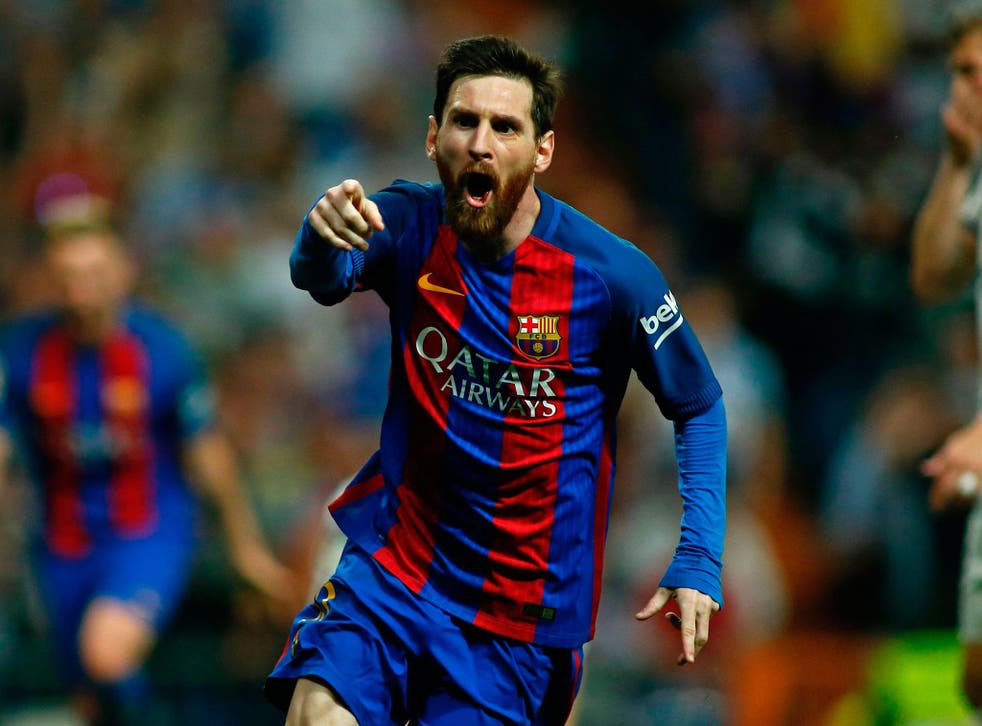 Lionel Messi scored with the final kick of the game to secure a 3-2 victory for Barcelona over Real Madrid