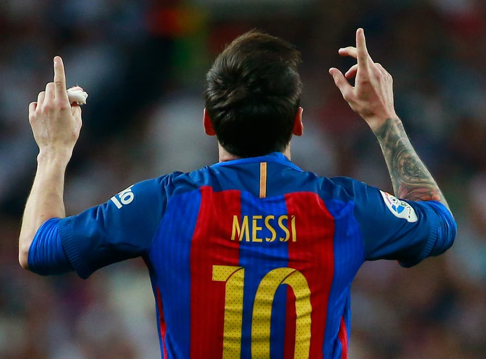 Barcelona superstar Lionel Messi was given a 21-month jail sentence for tax evasion last year