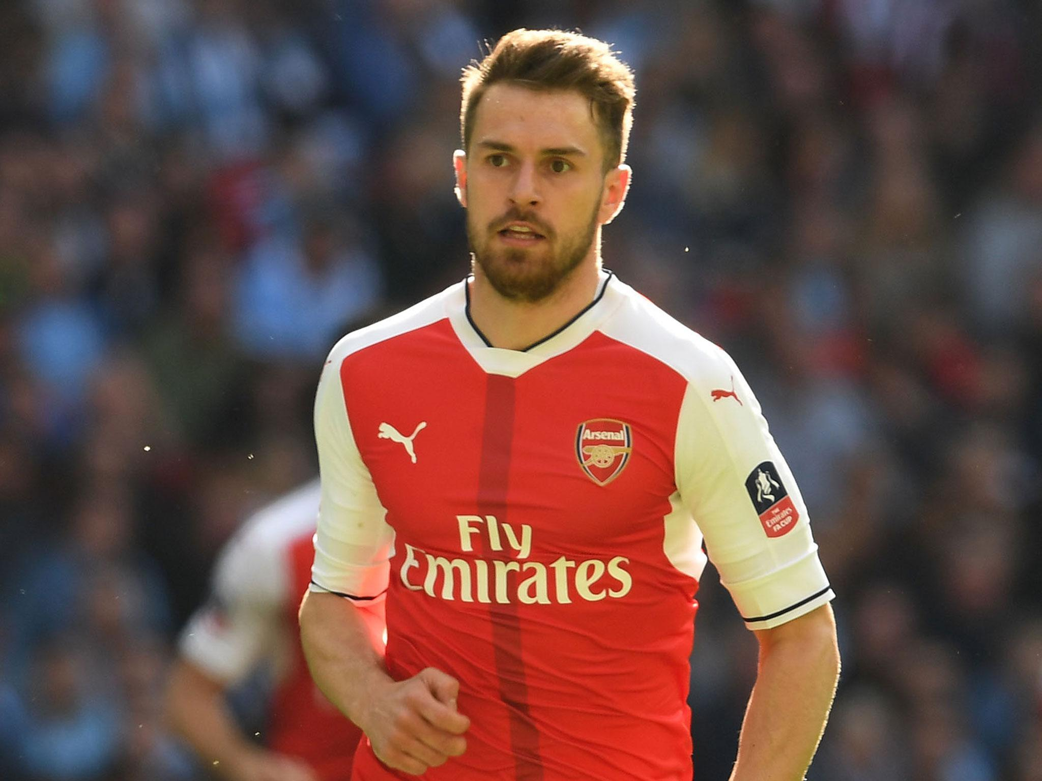Aaron Ramsey tells Arsenal to go and win the FA Cup for Arsene