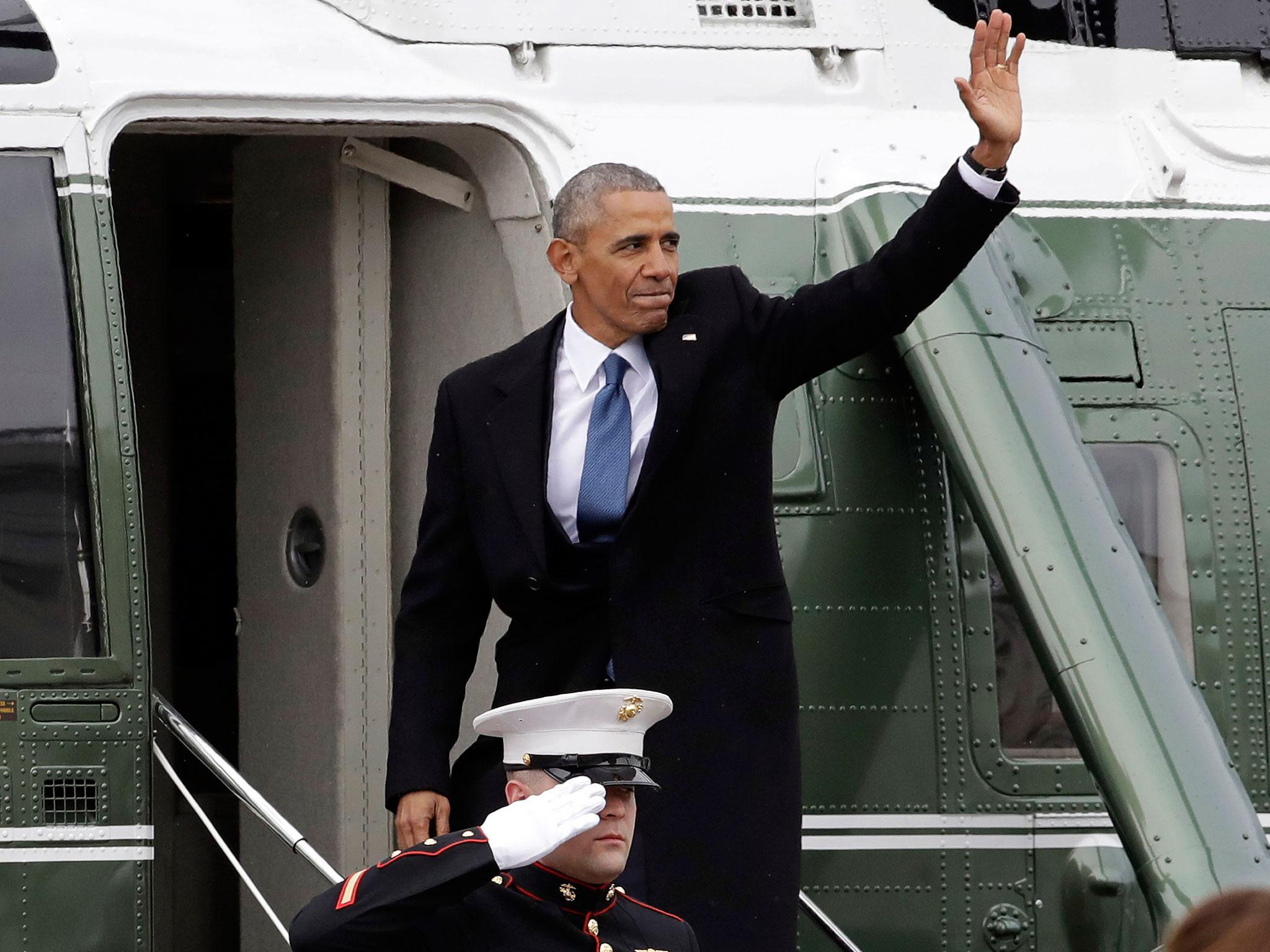 Barack Obama to give first post-White House speech from Chicago today | The Independent