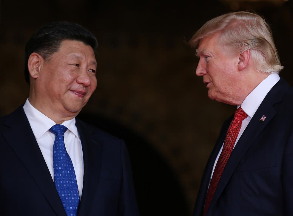Xi Jinping on his recent visit to President Trump's Mar-a-Lago estate in Palm Beach, Florida