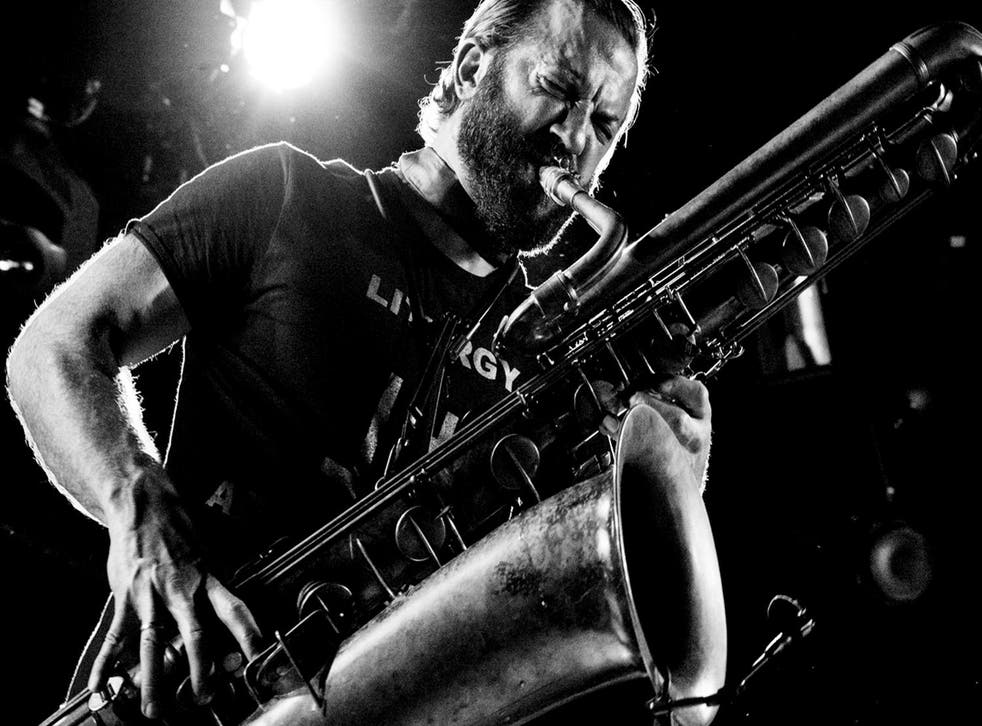 Colin Stetson performs at Jazz Cafe in London