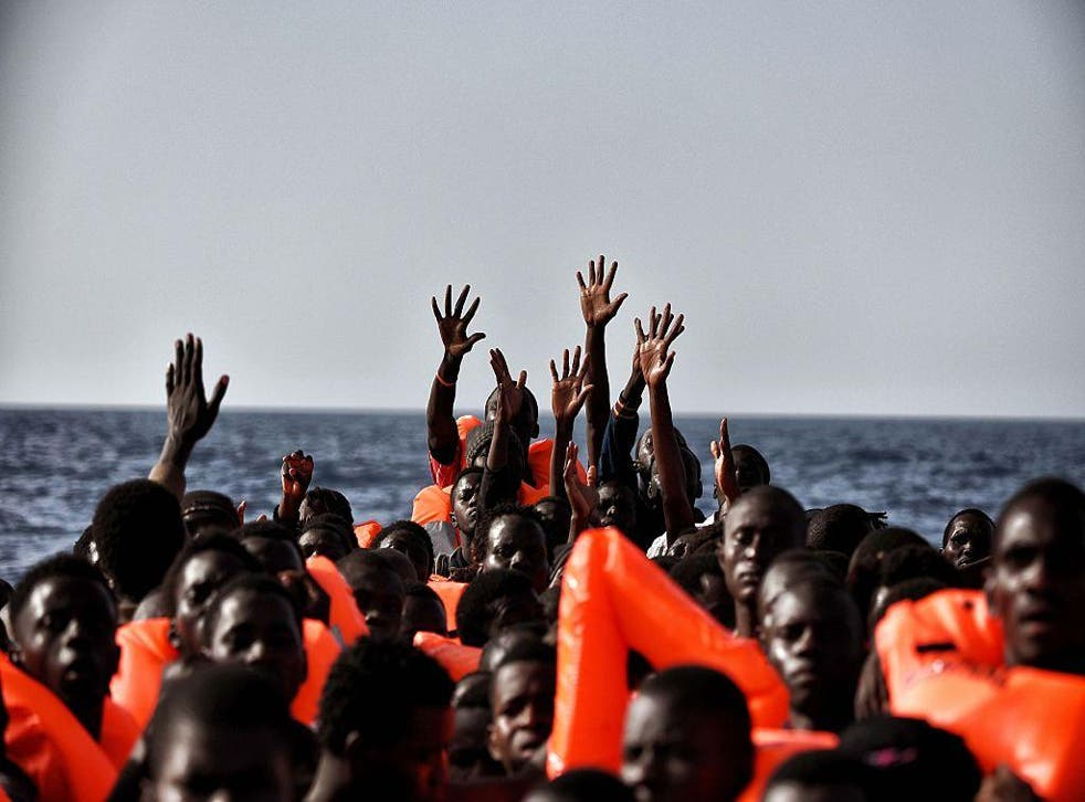 Crisis point: the EU's first port of call in dealing with African migrants is Libya, the very country that is refusing them, run by its unelected Government of National Accord