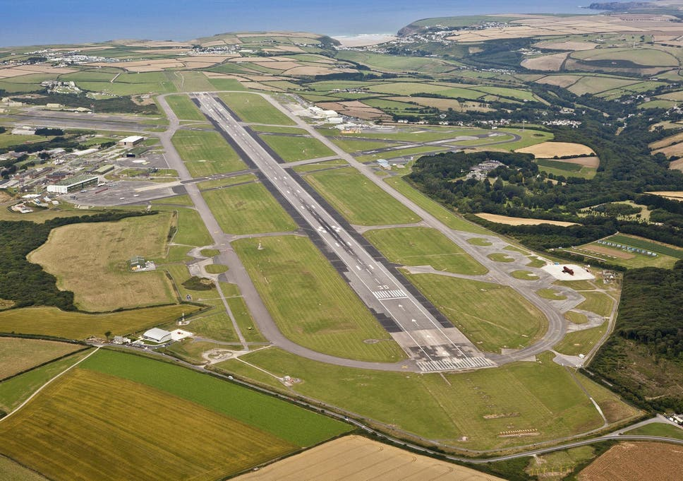 Image result for newquay airport